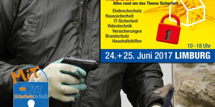 Sicherheitstage in Hessen | Messe in Limburg 24+25 Juni 2017
