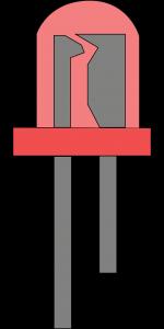 foto optische rauchmelder LED bei brand